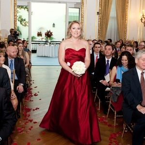 Alfred Angelo Red Gown